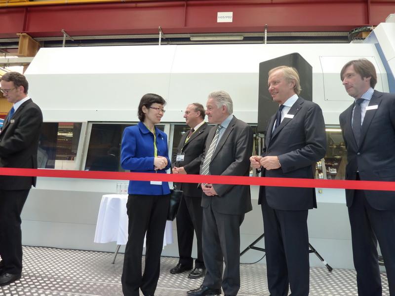 wfl公司机床展示暨技术峰会在林茨举行图片